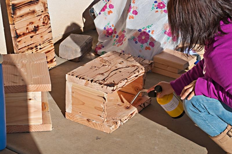 build 50 wood finish