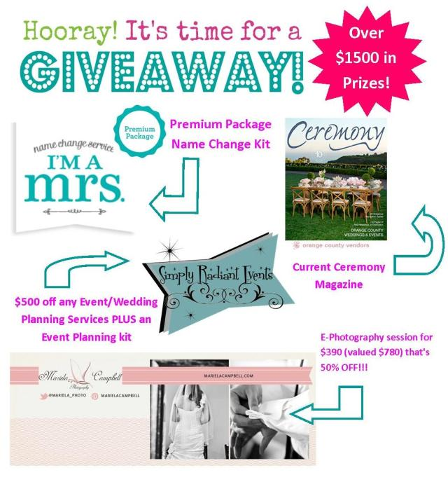 Event Planning-Photography Giveaway